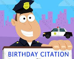 Image Result For Happy Birthday Police Officer Images Police Birthday Invitations Police Birthday Birthday Wishes