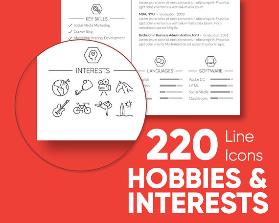 Hobbies and interests for men