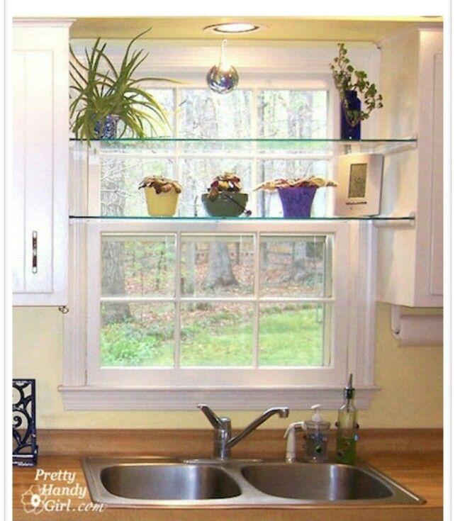 Kitchen Window Shelves Kitchen Sink Window Window