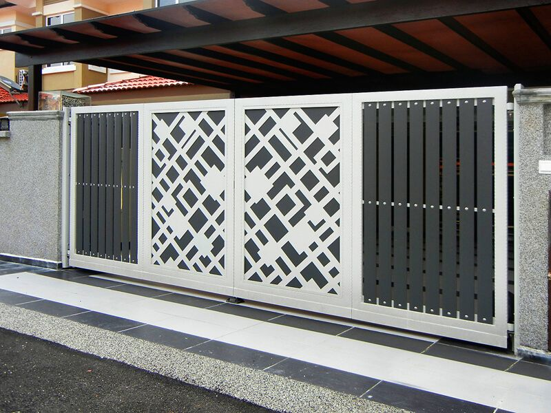 Premium Collections Images of Trackless & Folding Gates ...