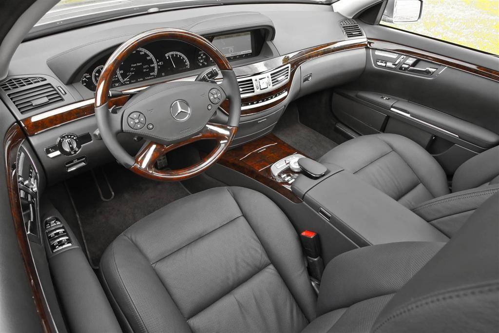 2002 Mercedes S500 Interior