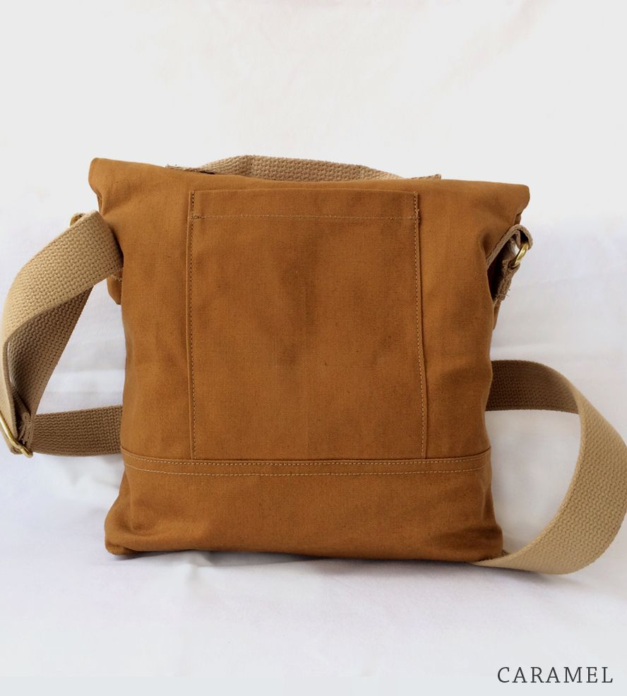 Crossbody Slim Canvas Bag As Functional It Is Good Looking This Handsome