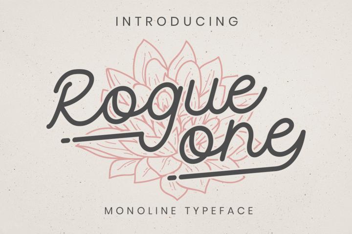 Rogue One 290311 Monoline Font Bundles