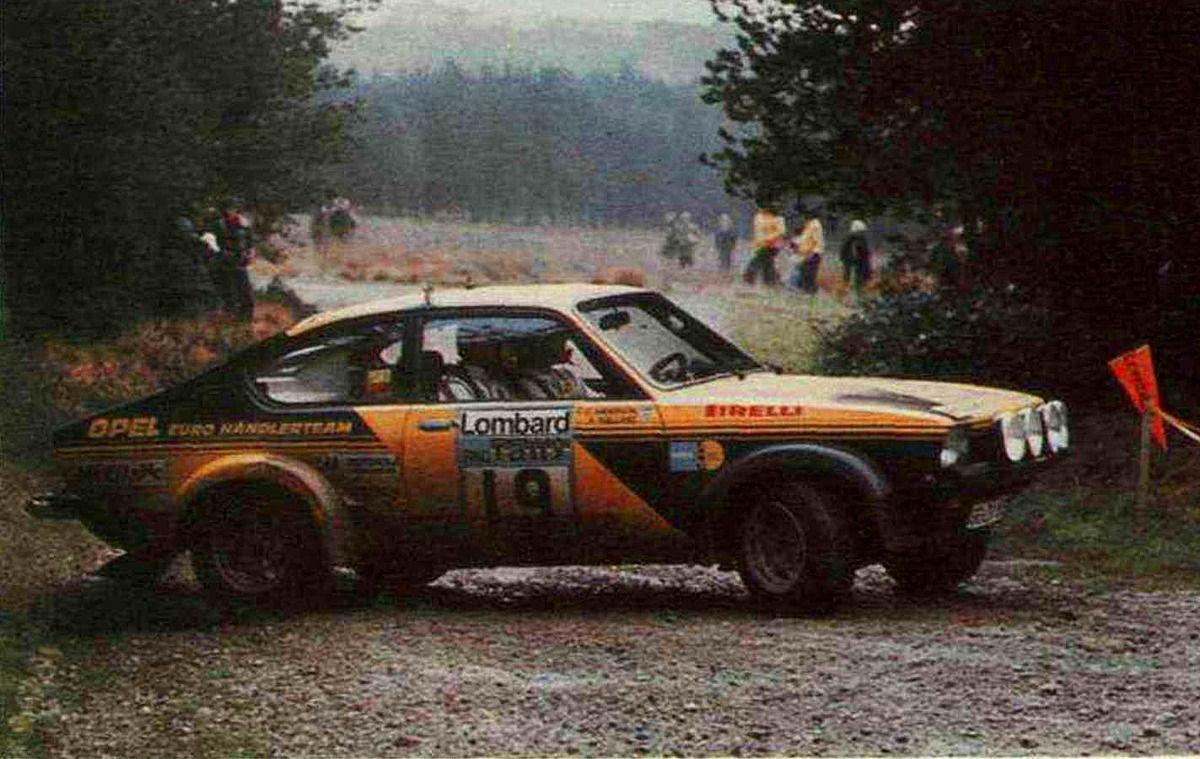 1976 rac rally kull ng anders andersson claes g ran opel kadett gt