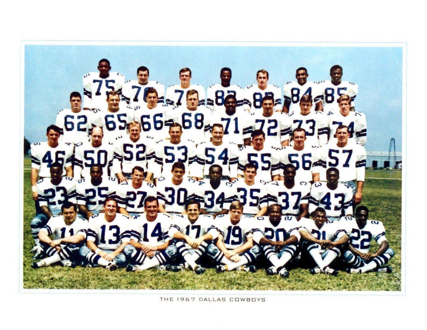 1967 Dallas Cowboys Dallas Cowboys Cowboys Dallas