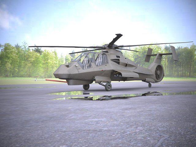 3D Model RAH66 Comanche c4d, obj, 3ds, fbx, ma, lwo 83994