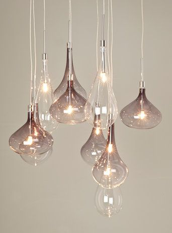 Melia cluster ceiling light pendant light