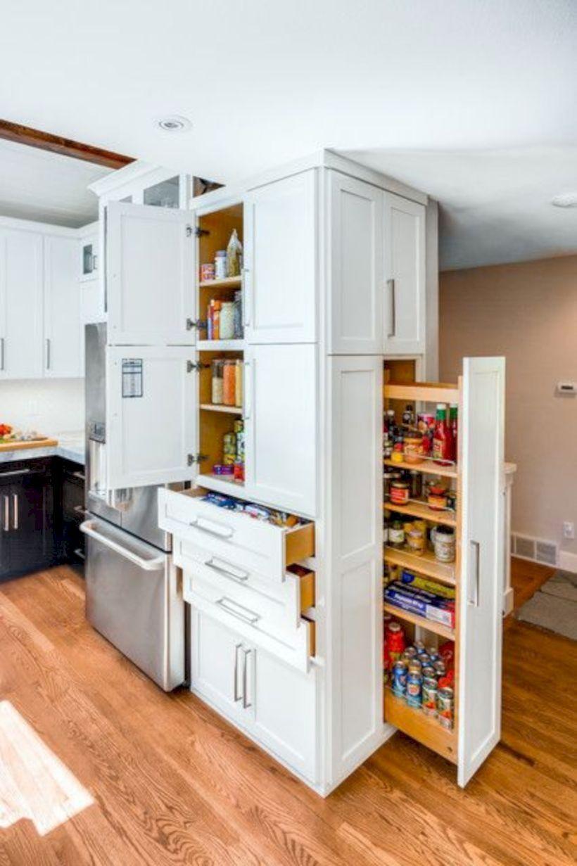 30 Kitchen Storage Ideas To Get Organized Once | Pinterest
