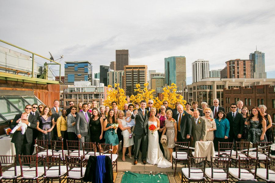 Photography: Chris Humphreys Photography, http  Read More: http://www.stylemepretty.com/southwest-weddings/2013/02/26/denver-rooftop-wedding-from-chris-humphreys-photography/