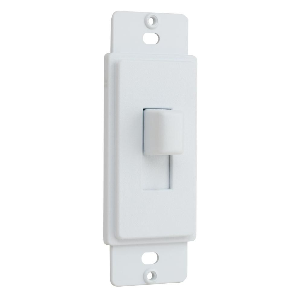 Commercial Electric 1 Gang Or Multi Gang Toggle Plastic Adapter Plate White Ppaw T In 2020 Light Switch Covers Diy Commercial Electric Home Depot