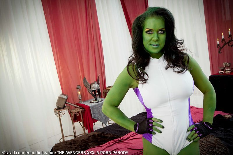 Avengers chyna marvel she hulk thor wwe animated cosplay wrestling