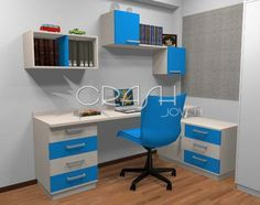 amoblamientos juveniles dormitorios juveniles escritorios modernos - Escritorios Modernos
