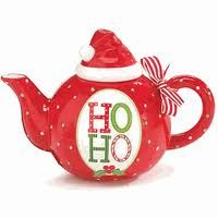 HoHo Christmas teapot