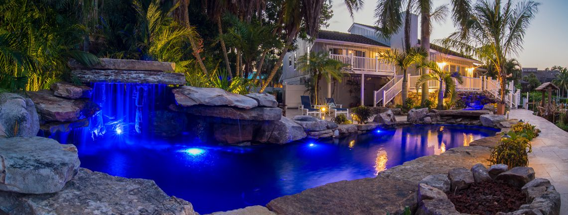 Swimming With The Fishes Lucas Lagoons Insane Pools Pool Swimming Pools Backyard