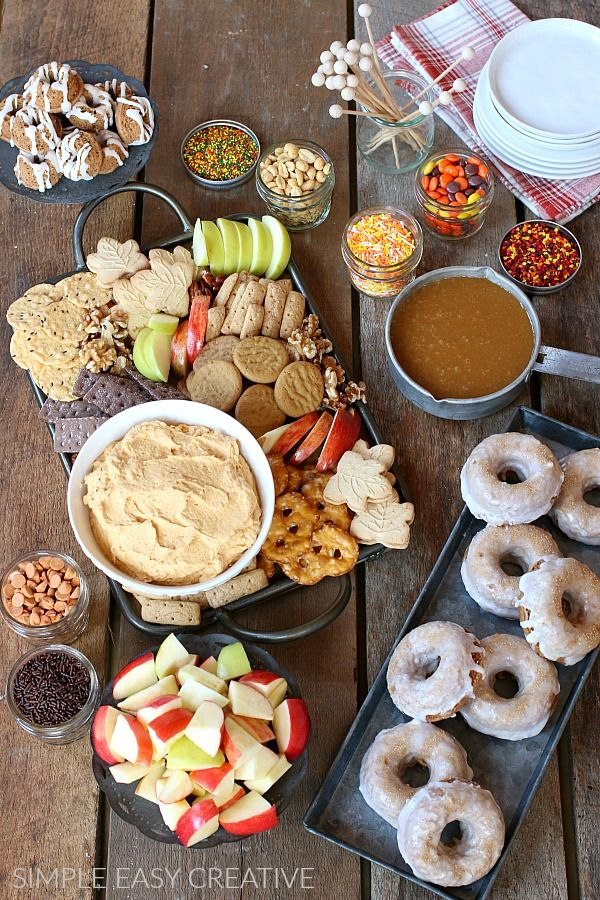 Fall Party Ideas These simple and easy fall party food