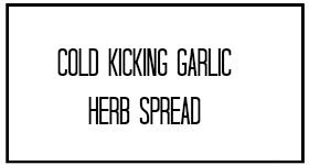 Cold Kicking Garlic Herb Spread Recipe by Donielle of www.NaturallyKnockedUp.com. Increasing the odds of conception through natural living and nourishing foods.