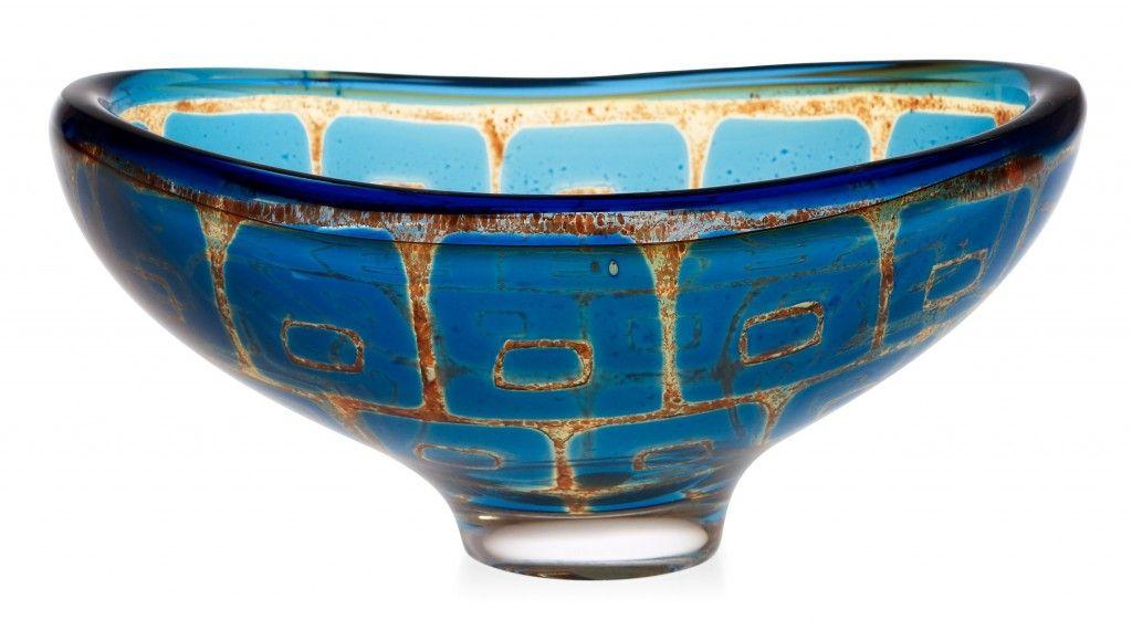 Sven Palmqvist, Ravenna glass - inspired by Byzantine mosaics