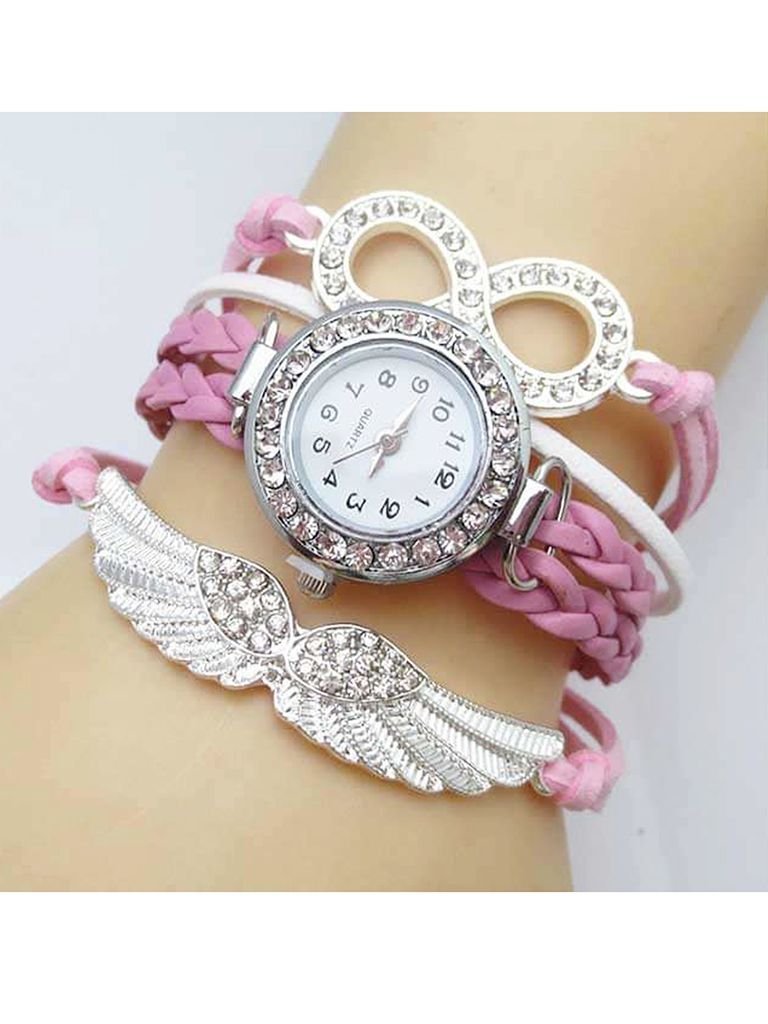 b4da11cb7 Ladies Bracelet Watch Bird Wings pink watches Shop Best Price ৳ 288 SKU:  RCW- 017 at Ankur.com.bd ➤Online Shopping BD Features: Warranty, Color  guaranty, ...