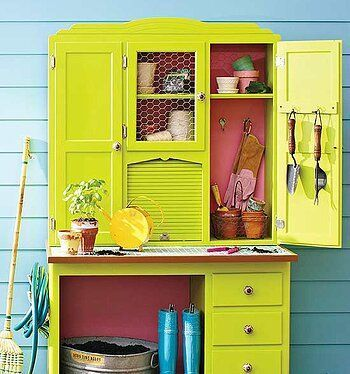 China cabinet made into a garden center  Best Picture For  Dining Room Decor mir... -  China cabinet made into a garden center  Best Picture For  Dining Room Decor mirror  For Your Taste - #cabindecor #cabinet #center #china #decor #dining #diybeautifulhomedecor #diyDiningroomhutch #diyhomedecorlighting #garden #mir #picture #Room