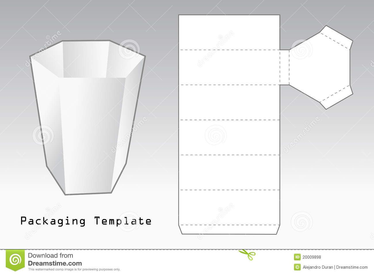 packaging template