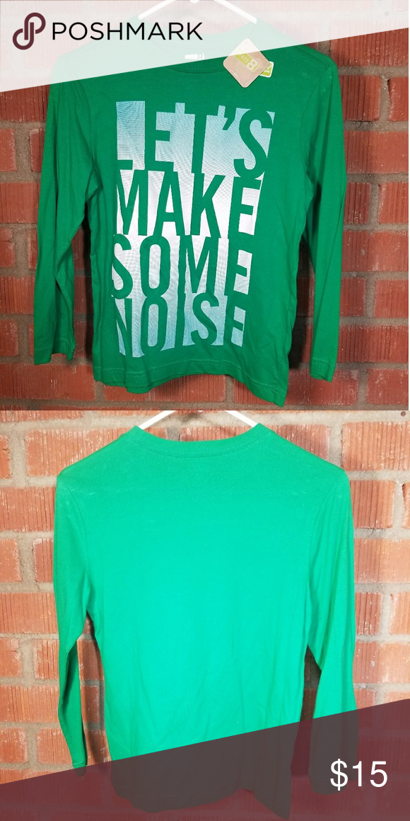 b5a17be0e Crazy 8 Crazy 8 Size 7-8 Made in India 100% cotton Green Crazy 8 Shirts & Tops  Tees - Long Sleeve