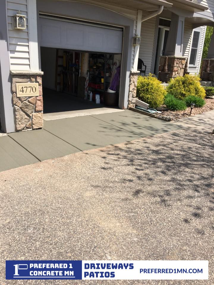 Driveway apron need replacement we offer neighborhood