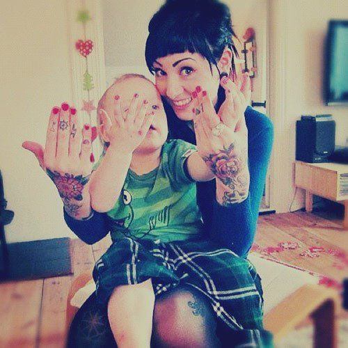 Tattooed parents you 39 ll be in my heart pinterest for Cheap moms tattoo ink
