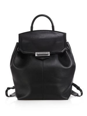 Alexander Wang - Prisma Skeletal Studded Backpack/Silvertone - Saks.com