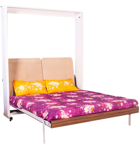 Buy Verical Double WallBed (QueenSize) by SpaceOne