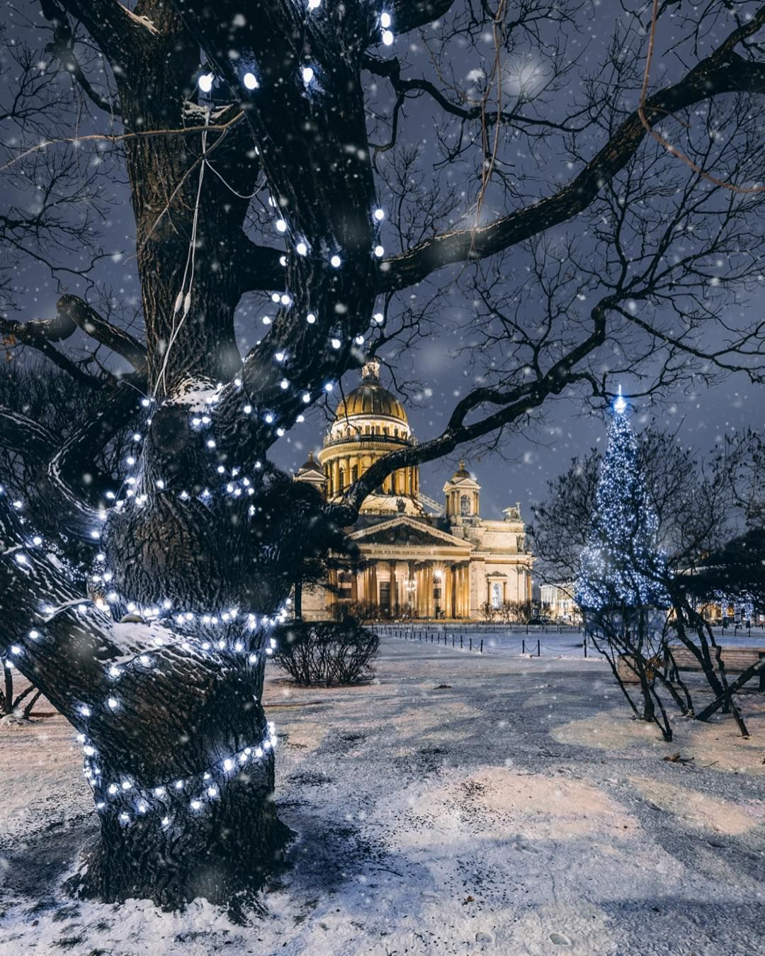 Russkij Christmas And New Year Decorations Saint Isaac S