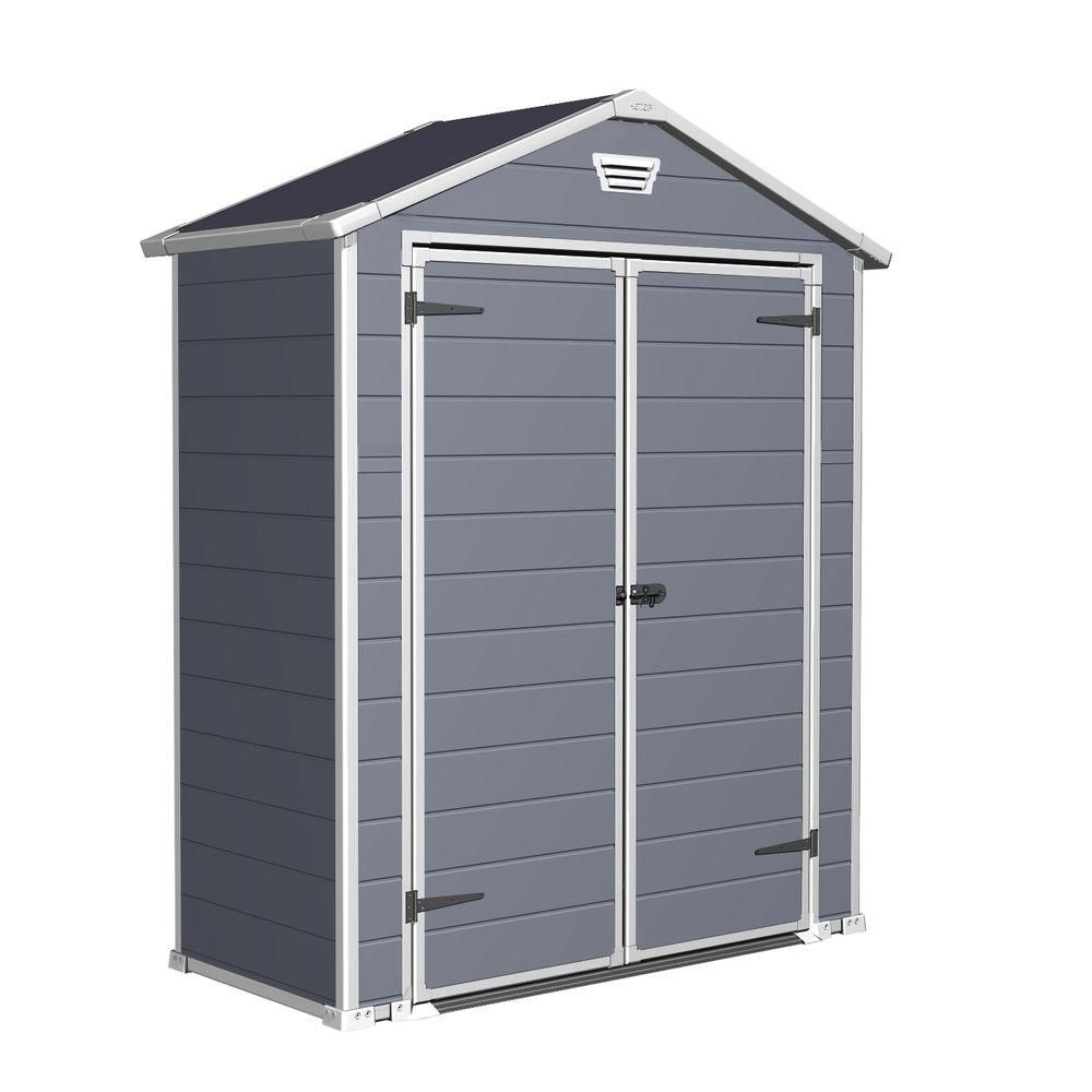 6 ft x 3 ft dd manor shed 214701 the home depot - Garden Sheds 6 X 3