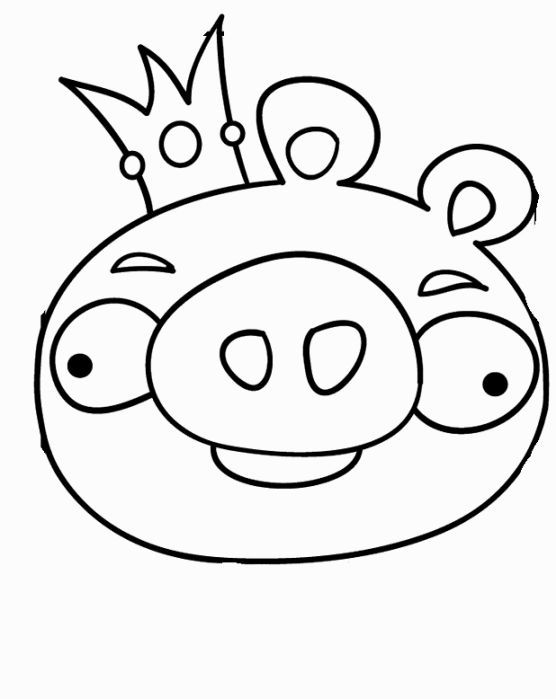 Pig Coloring Sheet | Draw a pig | Pinterest