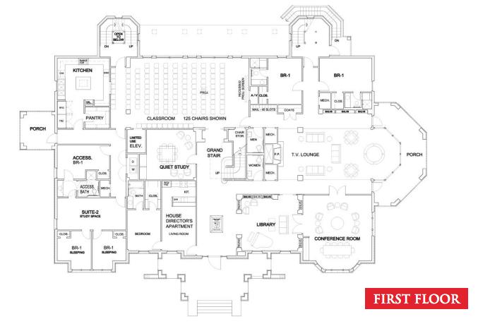 Impressive Fraternity House Floor Plan   Home Life   Pinterest ...