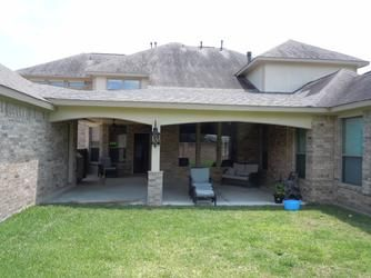 breezeway, patio cover, katy, arches, brick, | home projects ...