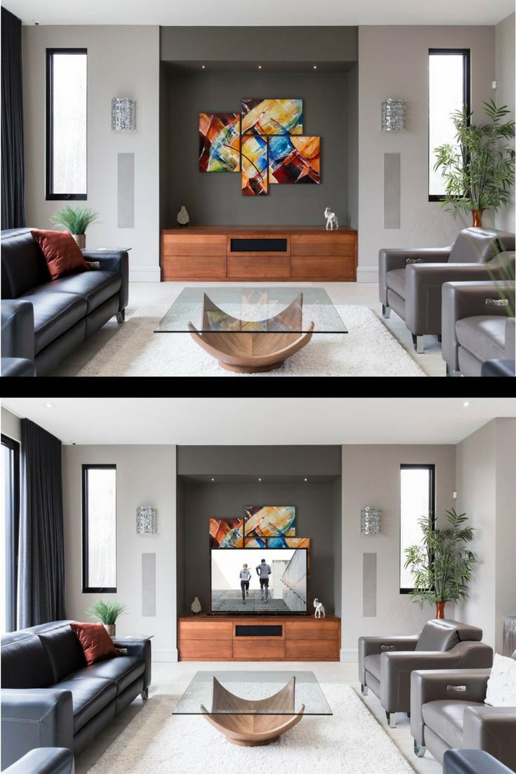 Pin By Bobbi25 On Living Room In 2021 Best Interior Design Tv Lift Cabinet Interior Design