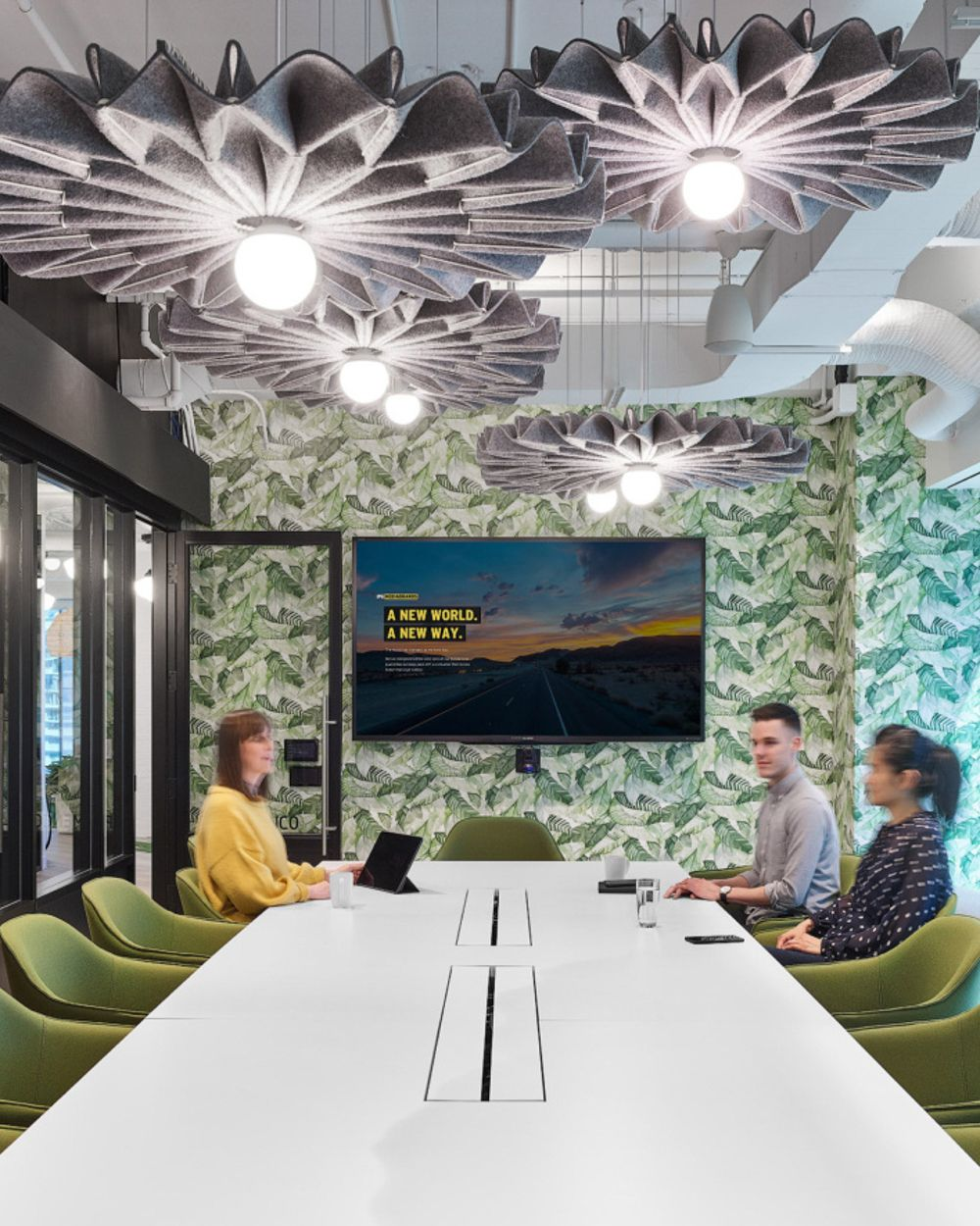 Buzzipleat Brings Light And Silence To Your Meeting Room