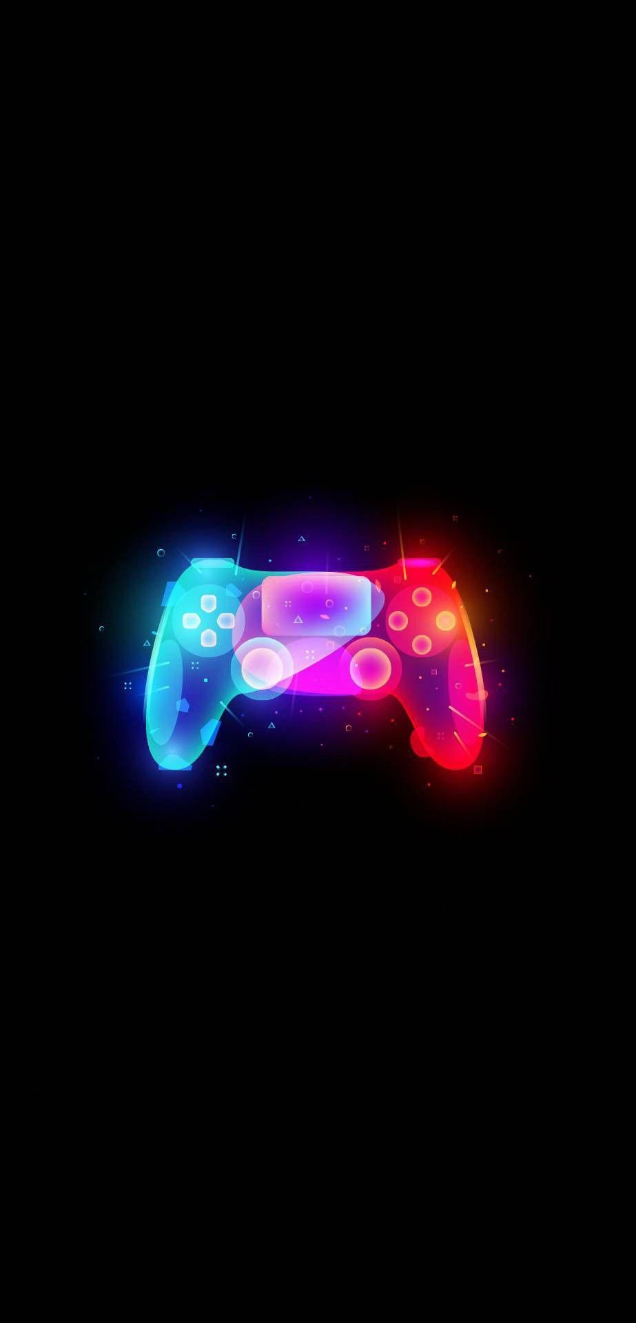 Repin If This Ps4 Controller Should Be A Playstation 5 Controller We Could Only Imagine How Amazing Thi Game Wallpaper Iphone Gaming Wallpapers Neon Wallpaper