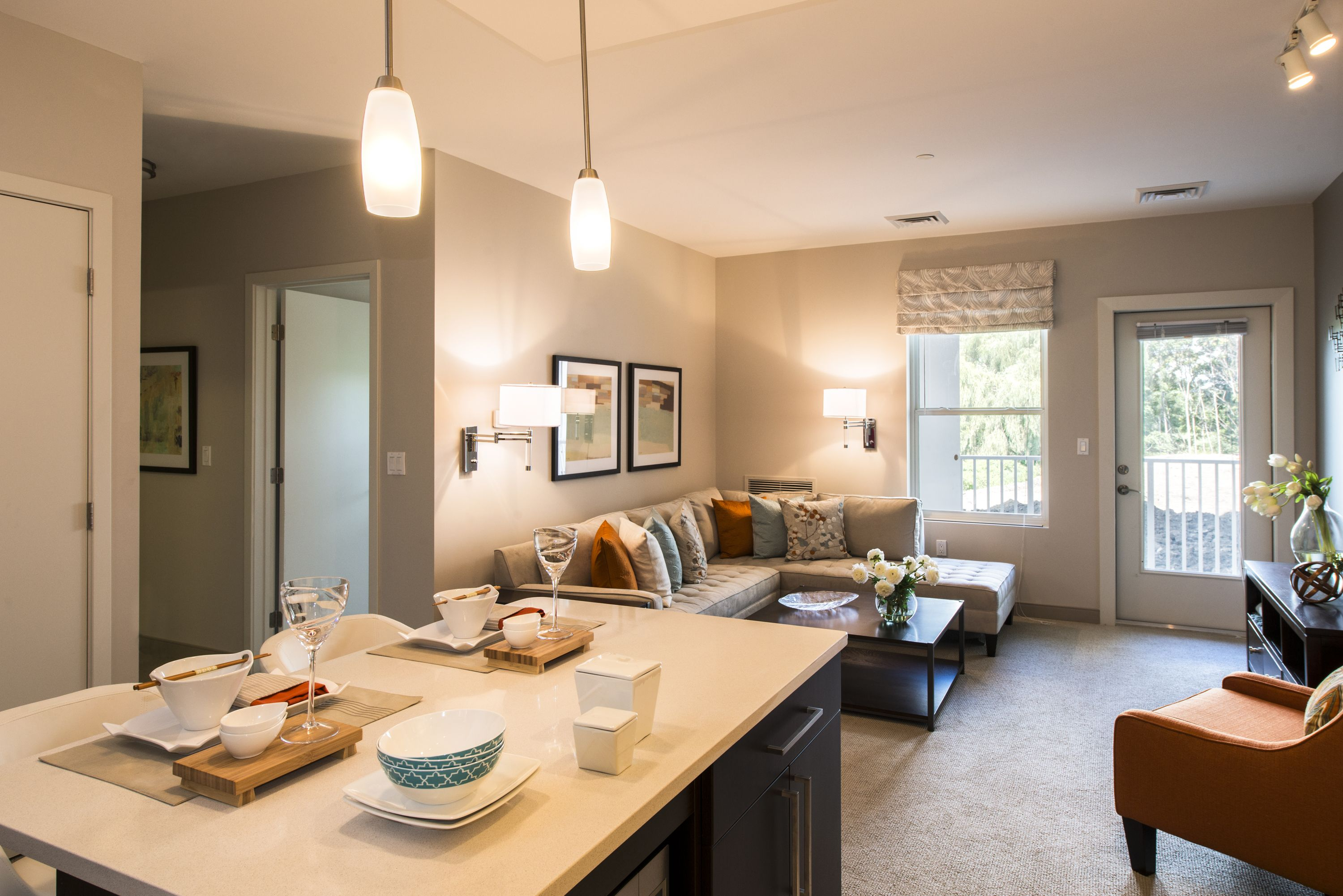 We love our open concept floor plans at arborpoint for Apartment design concept