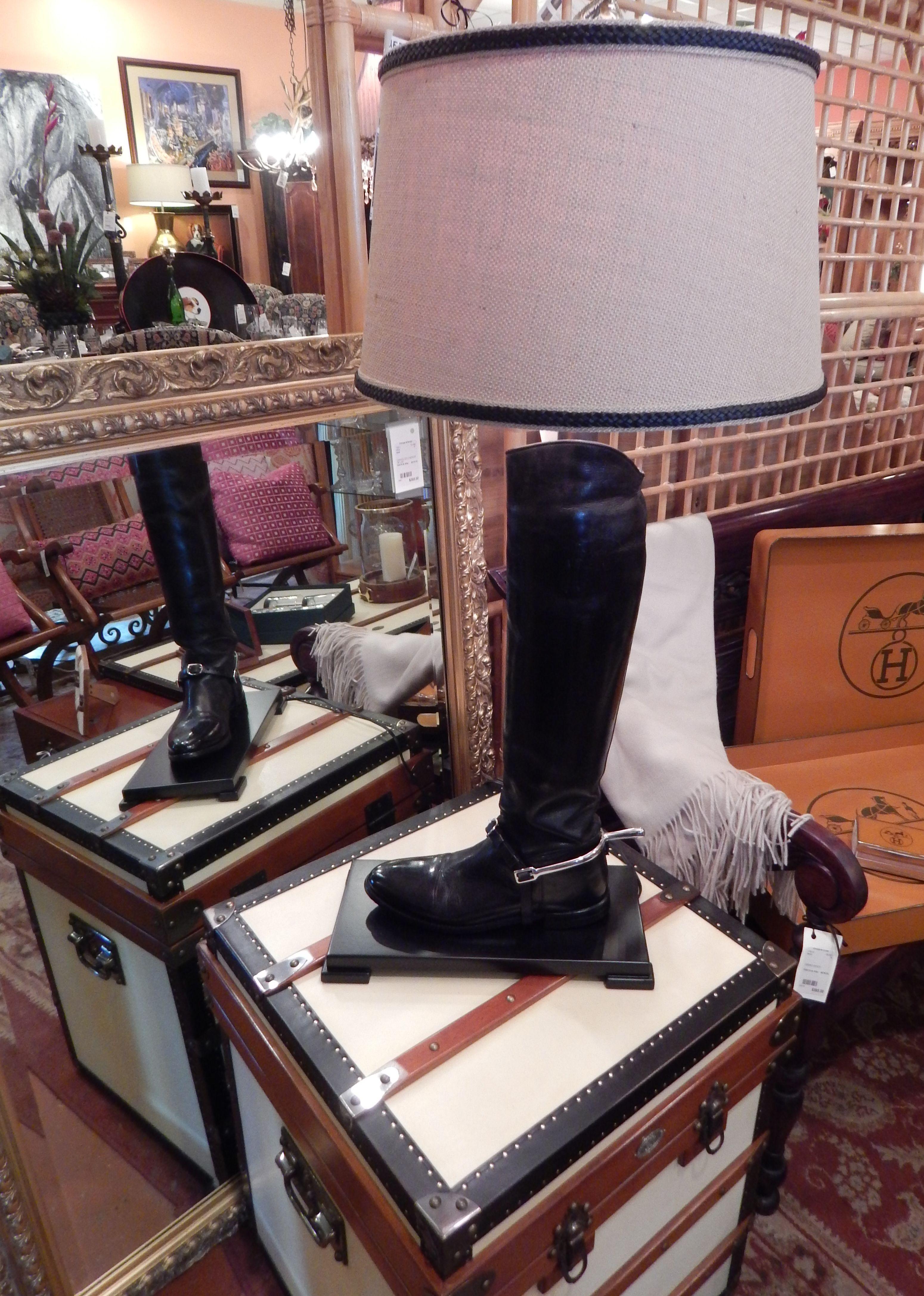 Beautiful Custom Riding Boot Lamp Custom Riding Boots Lamp Riding Boots