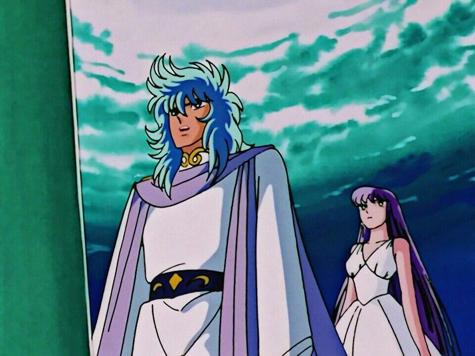 Poseidon e Athena   Poseidon, Saint seiya, Gold saints