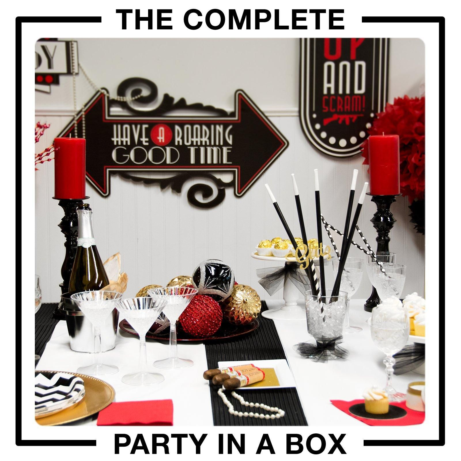 Flappers & Gangsters Party in a Box | Gangster party, Gangsters and ...