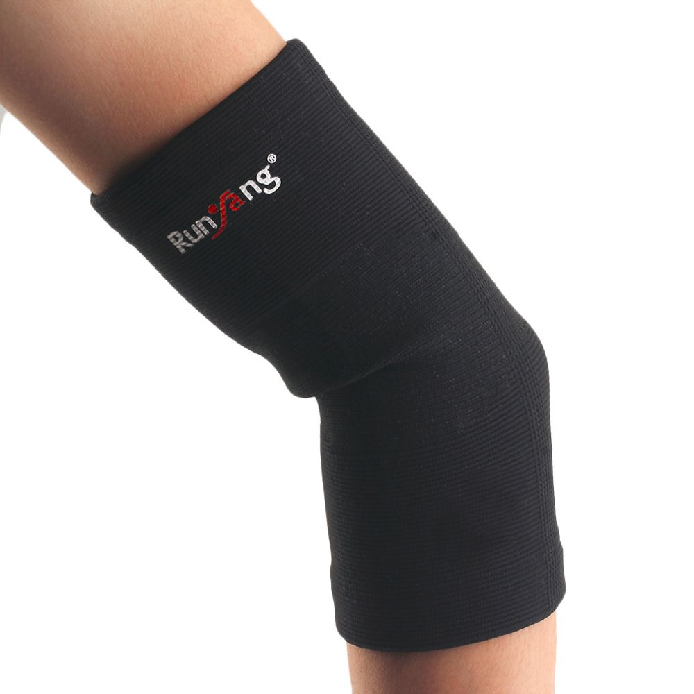 A22 Classic Black High Elastic Sports Gym Arm Sleeve Basketball Volleyball Comfortable Elbow Support Pad Drop Shipping Elbow Support Sport Gym Arm Sleeve