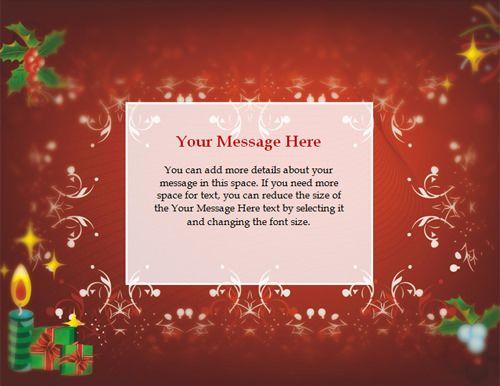 free christmas tmplates Free Christmas invitation templates ready