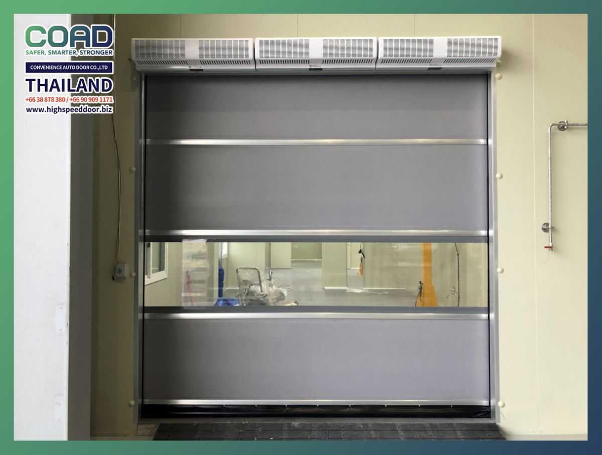 Interlock High Speed Door