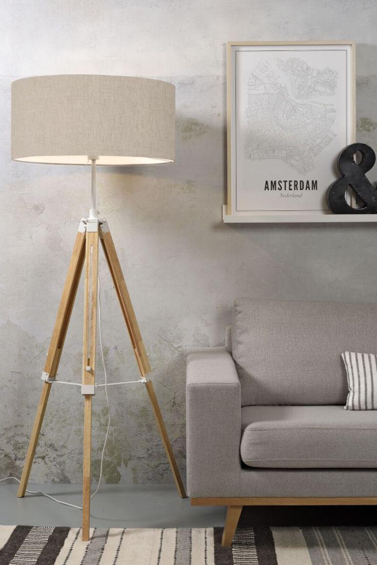 Stehleuchte Darwin In 2020 Stehlampe Wohnzimmer Stehlampe Holz Beleuchtung Fur Zuhause