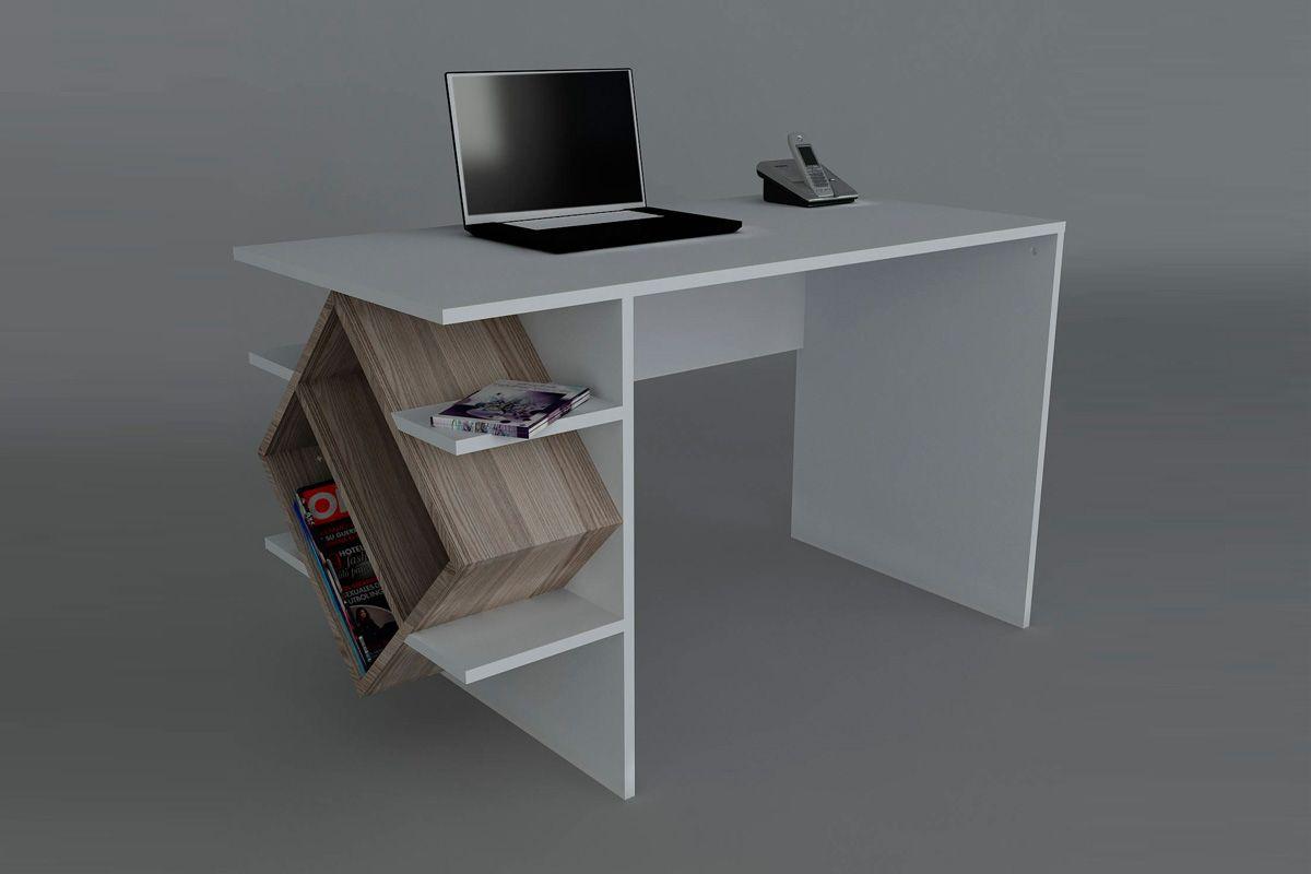 Vente wooden art 21805 bureaux bureau barok blanc et