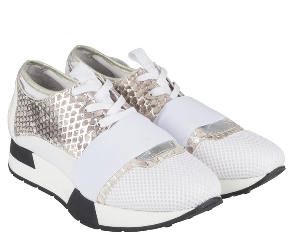 Licht Roze Sneakers : Tango oona sneaker wit monfrance webshop sneakers women