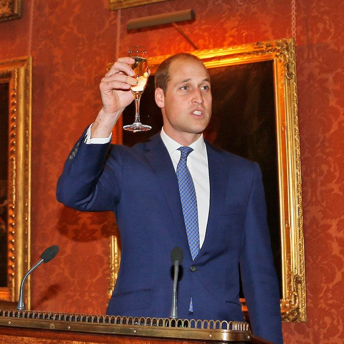Prince William toasts John F. Kennedy with champagne and moving speech and more royal photos of the week