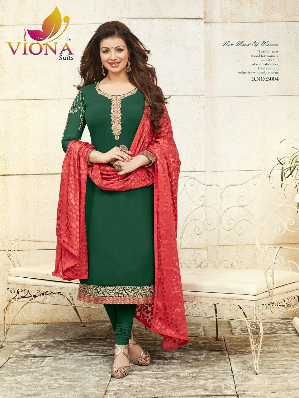 Viona Ayesha Vol 3 Georgette Designer Suits 8 Pc Catalog