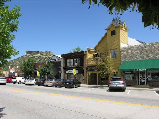 Historic Downtown Castle Rock Colorado Canyon Ridge Pediatric